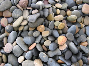 Sea, beach and wet stones: Sea, beach and wet stones