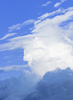 Cloudscape: Cloudscape - Blue Sky with giant Clouds