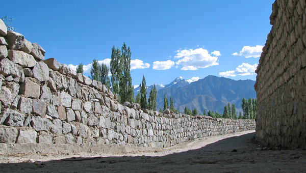 An Alley in a Village: An Alley in a Village, Ladakh