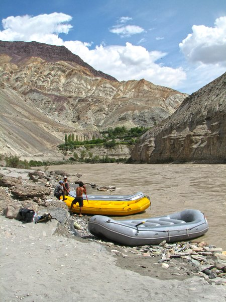 Rafting in the Himalayas: Rafting in the River Zanskar