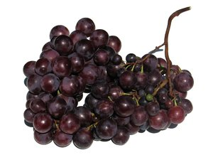 red grapes: none