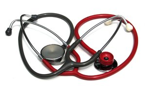 two stethoscopes 1: none