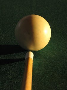 playing billiard: none