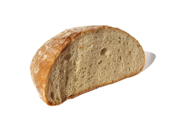 halved bread: none