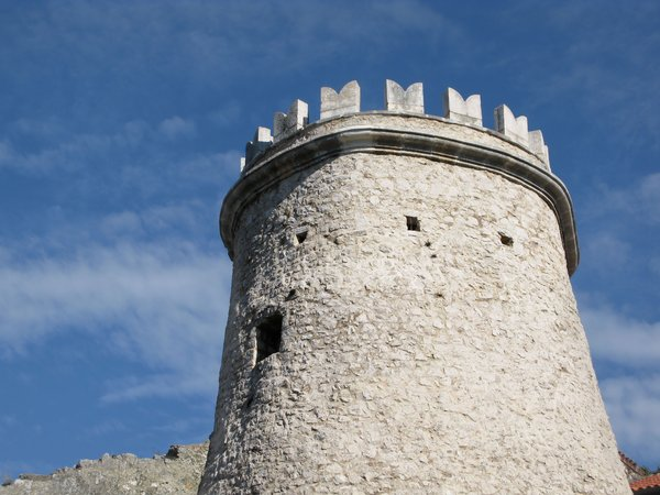 old fortress: Trsat, Croatia