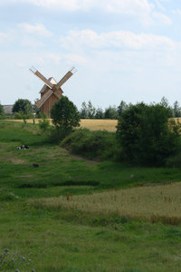 Windmill: Old windmill in Poland