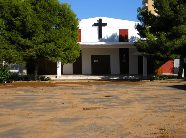 Church: Church in Spanish town