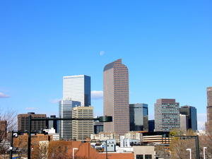 Denver Skyline: Denver, Colorado