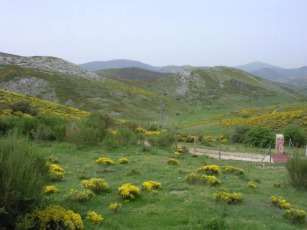 Mountains in Palencia: Landscape of Fuentes Carrionas