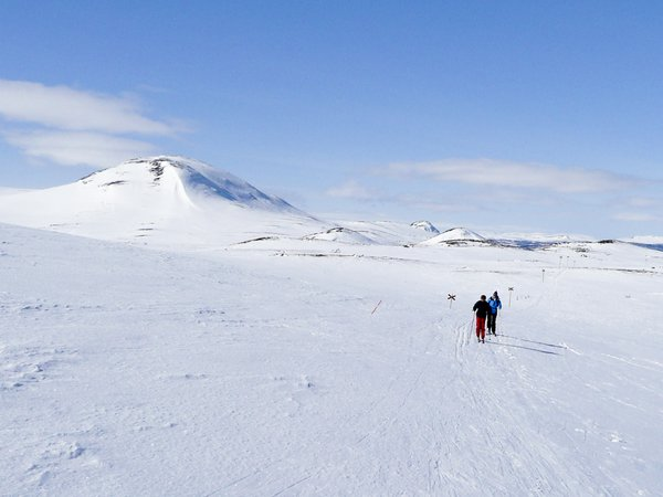 Long way to go: Ski expedition in Ramundberget, Sweden, Eastern 2007