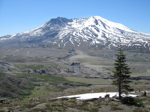 Mt St Helens: Mt St Helens in september