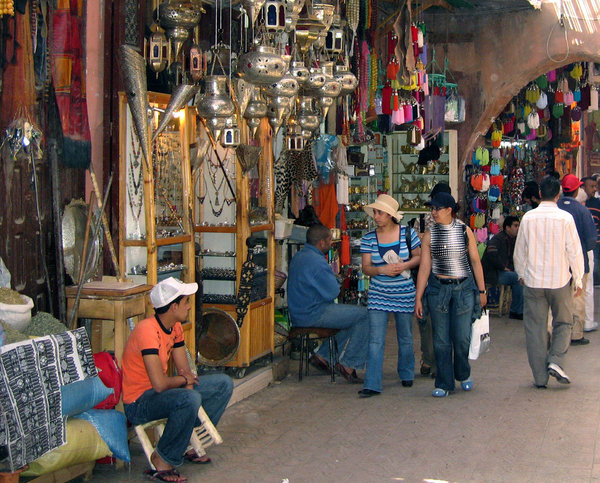 Shopping in marrakesh: Shops in and around Marrakesh