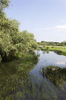 Tranquil river: The River Great Ouse in Bedfordshire, England.