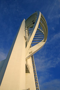 Spinnaker tower: The Spinnaker Tower, Portsmouth, England.