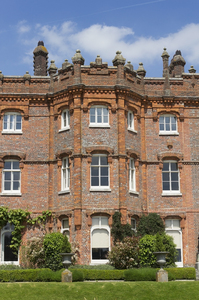 Victorian mansion: Hughenden Manor, a Victorian mansion in Buckinghamshire, England. Photography of this National Trust property is freely permitted.