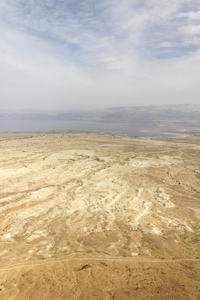 Dead Sea landscape: Landscape by the Dead Sea, Israel.