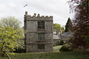 Old manor house: Cotehele house in Cornwall, England. Photography in the grounds of this National Trust property was freely permitted.