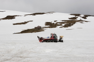 Snow clearance vehicle: A vehicle for snow clearance in Norway.
