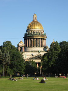 saint petersburg: Saint Isaac's Cathedral