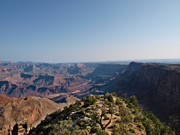 Grand Canyon: View over the magnificent Grand Canyon