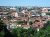 Vilnius panorama: A panorama of a city.