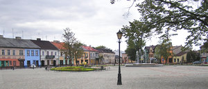 Town's square: A square in �owicz.