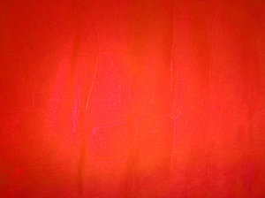 Red screen: A paper screen.