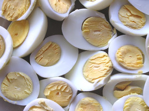 Eggs: Just some eggs.