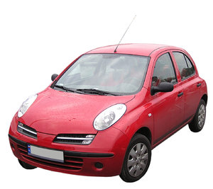 Red car: A car. Nissan Micra.Please mail me if you found it useful. Just to let me know!I would be extremely happy to see the final work even if you think it is nothing special! For me it is (and for my portfolio)!