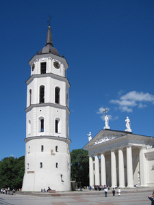 Vilnius Cathedral: The main Roman Catholic Cathedral of Lithuania. It is situated in Vilnius Old Town, just off of Cathedral Square. It is the heart of Catholic spiritual life in Lithuania.