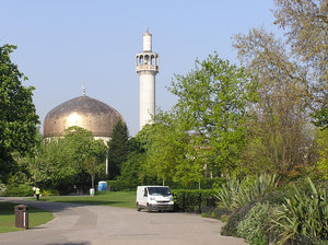 Regent's Park Mosque: The London Central Mosque (more commonly known as Regent's Park Mosque for its location), is the principal mosque of London and the spiritual focal point for Muslims throughout the UK.