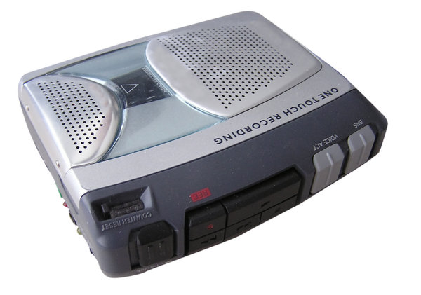 Tape recorder: A casette recorder. Please let me know if you decide to use it!