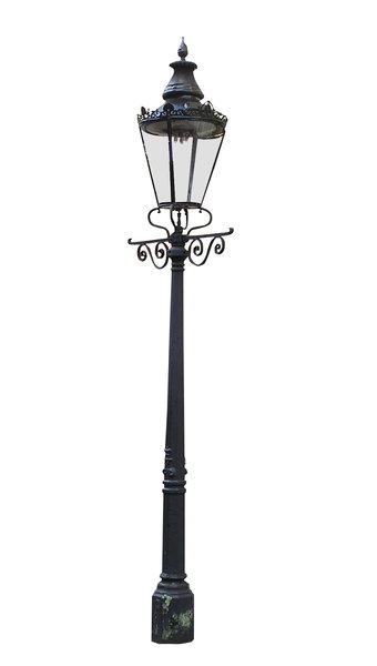 Street lamp: A lamp from London.