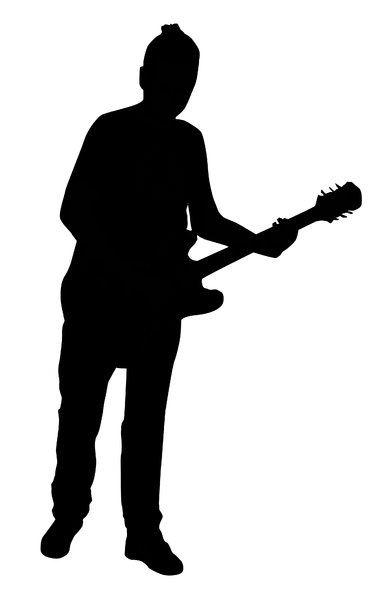 Guitarist: A man with the guitar,