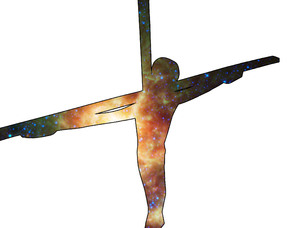 Cosmic Christ: The universe viewed through the aperture of the crucifix
