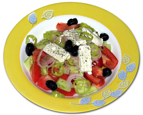 greek salad: salad