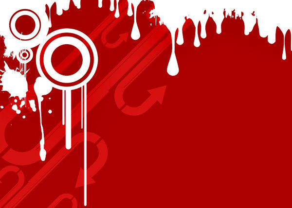 Grunge Wallpaper RED: