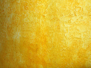Yellow Texture: Yellow Wall