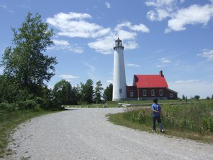 Lighthouse: A lighthouse in Upper Michigan