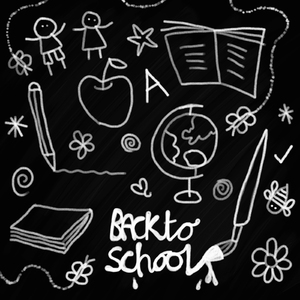 Back to School: Back to school doodles.