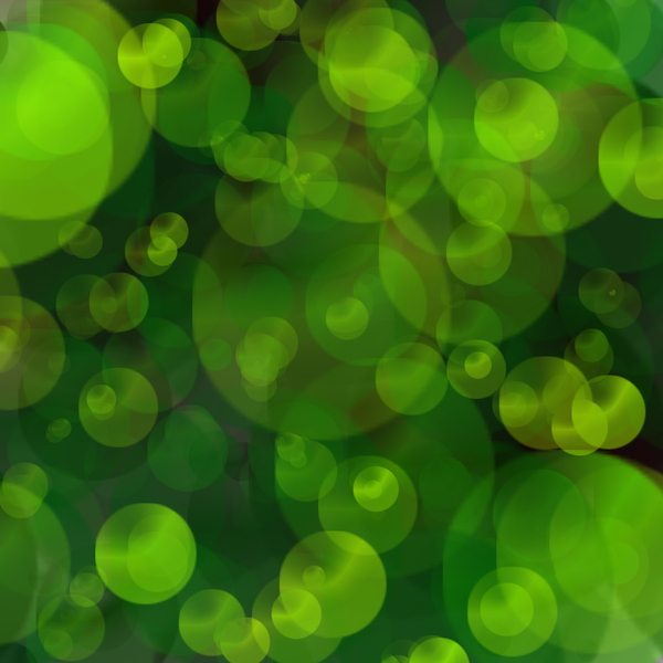 Green Bokeh: Green bokeh abstract.