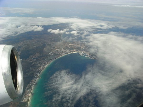 Flying over Majorca: no description