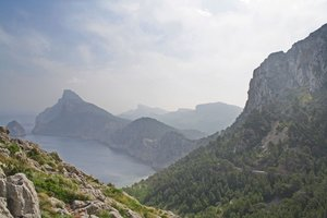 road to cap formentor: taken at mallorca - spain