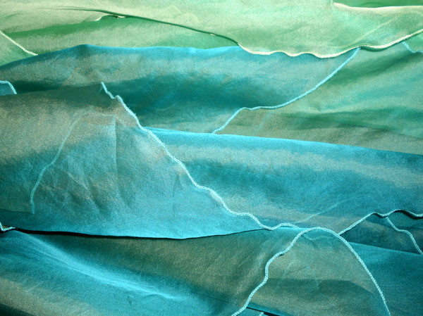 background_green: silk, green, blue