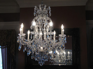 Chandelier: Something to sway on stormy nights