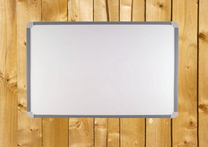 Board on wood: Noticeboard on wooden panels