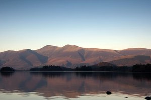 across the lake 3: a view across derwent water