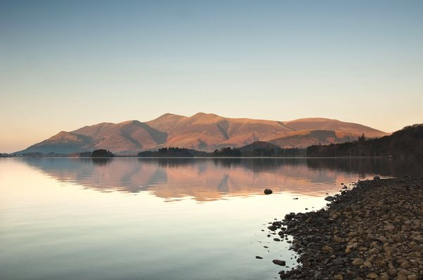 Across the Lake 2: a view across derwent water