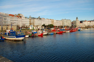 Fishing in the crystal city 1: Fishing in the city of A Coruña