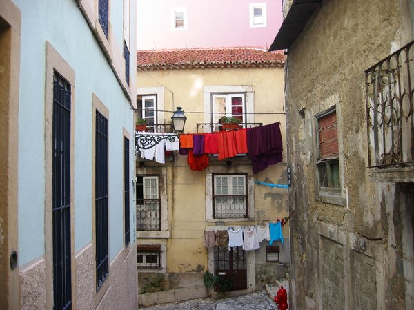 Lisbon places 2: Traditional houses from lisbon